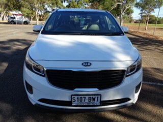 2015 Kia Carnival YP MY16 S White 6 Speed Sports Automatic Wagon.