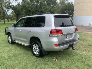 2016 Toyota Landcruiser VDJ200R GXL Silver Pearl 6 Speed Sports Automatic Wagon