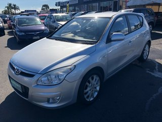 2007 Hyundai i30 FD SLX Silver 4 Speed Automatic Hatchback.
