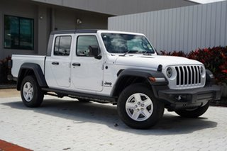 2020 Jeep Gladiator JT MY21 Sport Pick-up S Bright White 8 Speed Automatic Utility.