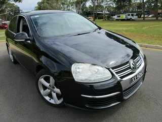 2008 Volkswagen Jetta 1KM MY08 Upgrade 2.0 FSI Black 6 Speed Tiptronic Sedan.