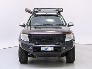 2014 Ford Ranger PX XLT 3.2 (4x4) Black 6 Speed Automatic Double Cab Pick Up.
