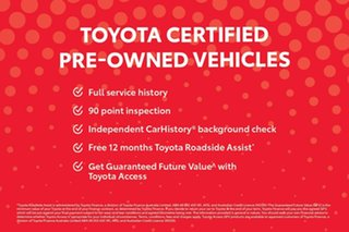 2018 Toyota Hilux GUN126R MY19 Rogue (4x4) Crystal Pearl 6 Speed Automatic Double Cab Pick Up
