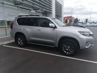 2018 Toyota Landcruiser Prado GDJ150R Kakadu Silver 6 Speed Sports Automatic Wagon