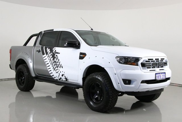 Used Ford Ranger PX MkII MY17 XL 3.2 (4x4) Bentley, 2017 Ford Ranger PX MkII MY17 XL 3.2 (4x4) White 6 Speed Automatic Crew Cab Utility