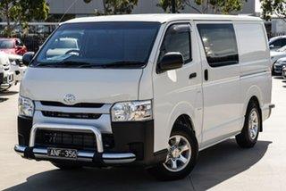 2017 Toyota HiAce KDH201R (No Badge) White Automatic Van.