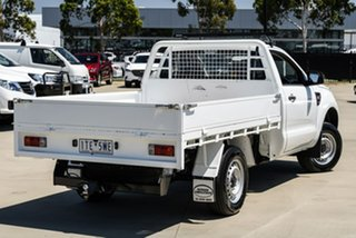 2014 Ford Ranger PX XL Hi-Rider White Manual Cab Chassis.