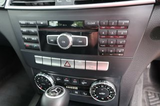 2013 Mercedes-Benz C200 W204 C200 7G-Tronic + Black Automatic Sedan