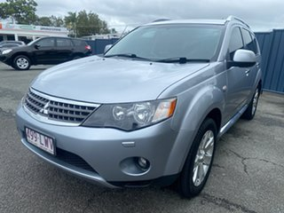 2008 Mitsubishi Outlander ZG MY08 VR-X Silver 6 Speed Sports Automatic Wagon