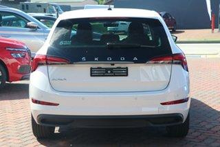 2021 Skoda Scala NW MY21 110TSI DSG Launch Edition Moon White 7 Speed Sports Automatic Dual Clutch