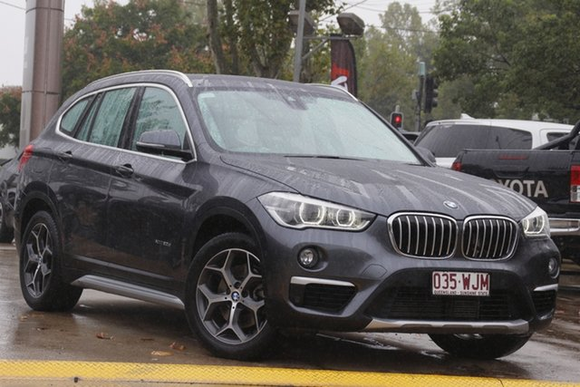 Used BMW X1 F48 xDrive20d Steptronic AWD Toowoomba, 2015 BMW X1 F48 xDrive20d Steptronic AWD Grey 8 Speed Sports Automatic Wagon