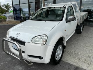 2011 Great Wall V240 K2 (4x2) White 5 Speed Manual Cab Chassis