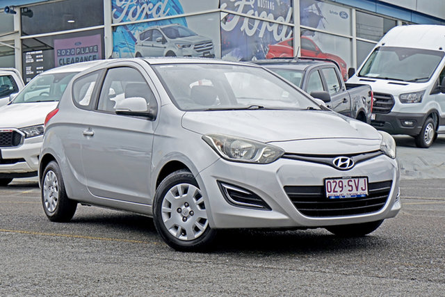Used Hyundai i20 PB MY12 Active Springwood, 2012 Hyundai i20 PB MY12 Active Silver 4 Speed Automatic Hatchback
