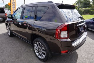 2014 Jeep Compass MK MY15 Limited CVT Auto Stick Rugged Brown 6 Speed Constant Variable Wagon.