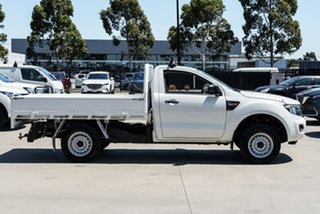 2014 Ford Ranger PX XL Hi-Rider White Manual Cab Chassis