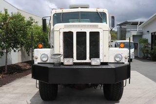 1981 International White Automatic Service Body.