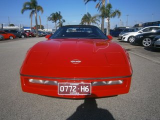 1987 Chevrolet Corvette Red 4 Speed Automatic Convertible.