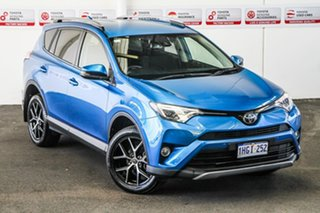 2017 Toyota RAV4 ZSA42R MY18 GXL (2WD) Blue Gem Continuous Variable Wagon.