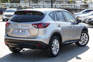 2013 Mazda CX-5 KE1021 MY13 Grand Touring SKYACTIV-Drive AWD Silver 6 Speed Sports Automatic Wagon.