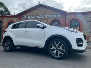 2016 Kia Sportage QL MY16 Platinum AWD White 6 Speed Sports Automatic Wagon