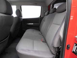 2013 Toyota Hilux KUN26R MY12 SR5 (4x4) Red 4 Speed Automatic Dual Cab Pick-up