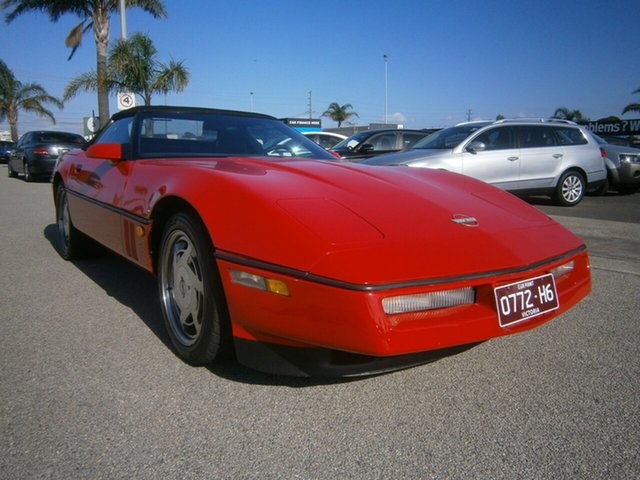 Used Chevrolet Corvette Cheltenham, 1987 Chevrolet Corvette Red 4 Speed Automatic Convertible