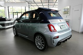2019 Abarth 695 Series 4 Rivale Dualogic Silver 5 Speed Sports Automatic Single Clutch Convertible