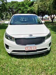 2017 Kia Carnival YP MY17 S White 6 Speed Automatic Wagon.