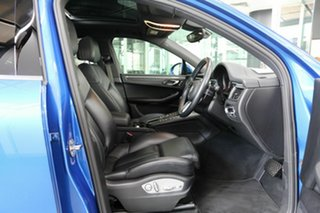 2017 Porsche Macan 95B MY18 PDK AWD Blue 7 Speed Sports Automatic Dual Clutch Wagon.