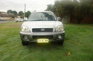 2003 Hyundai Santa Fe SM GLS Silver 4 Speed Sports Automatic Wagon.