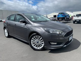 2017 Ford Focus LZ Sport Grey 6 Speed Automatic Hatchback.