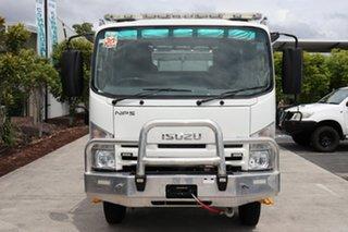 2012 Isuzu NPS 300 White Manual Firetruck.