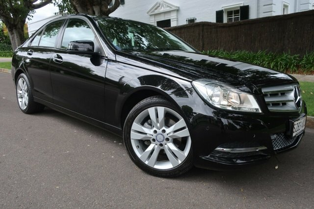 Used Mercedes-Benz C200 W204 C200 7G-Tronic + Prospect, 2013 Mercedes-Benz C200 W204 C200 7G-Tronic + Black Automatic Sedan