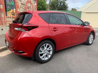 2017 Toyota Corolla ZRE182R Ascent Sport Red/Black 6 Speed Manual Hatchback.