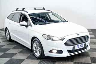2016 Ford Mondeo MD Ambiente TDCi White 6 Speed Automatic Wagon