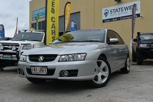 Used Holden Commodore VZ MY06 SVZ Capalaba, 2006 Holden Commodore VZ MY06 SVZ Silver 4 Speed Automatic Sedan