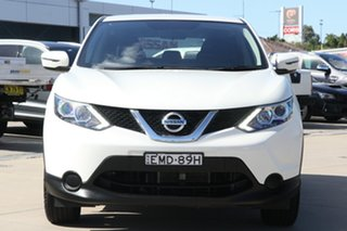 2016 Nissan Qashqai J11 ST White 1 Speed Constant Variable Wagon