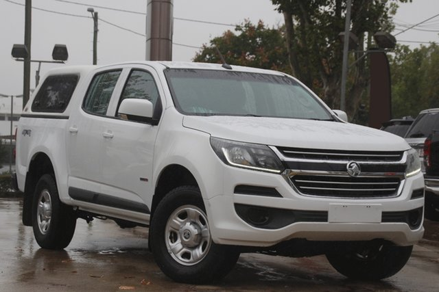 Used Holden Colorado RG MY18 LS Pickup Crew Cab Toowoomba, 2018 Holden Colorado RG MY18 LS Pickup Crew Cab White 6 Speed Sports Automatic Utility
