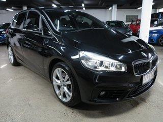 2014 BMW 2 Series F45 225i Active Tourer Sport Line Black 8 Speed Sports Automatic Hatchback.
