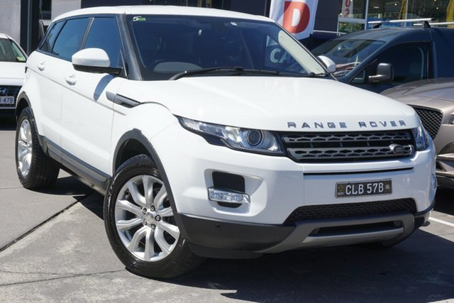 Used Land Rover Range Rover Evoque L538 MY14 Pure Tech Phillip, 2014 Land Rover Range Rover Evoque L538 MY14 Pure Tech White 9 Speed Sports Automatic Wagon