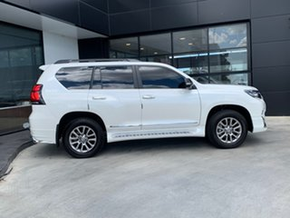 2019 Toyota Landcruiser Prado GDJ150R Kakadu White 6 Speed Sports Automatic Wagon.