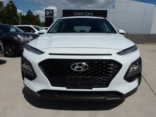 2019 Hyundai Kona OS.2 MY19 Active 2WD Chalk White 6 Speed Sports Automatic Wagon.