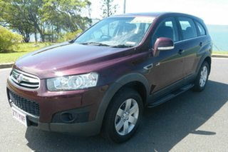 2013 Holden Captiva CG MY13 7 SX Red 6 Speed Sports Automatic Wagon