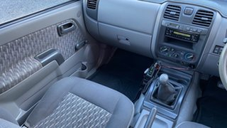 2003 Holden Rodeo LX 4x4 White 5 Speed Manual Dual Cab
