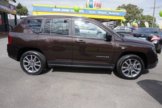 2014 Jeep Compass MK MY15 Limited CVT Auto Stick Rugged Brown 6 Speed Constant Variable Wagon