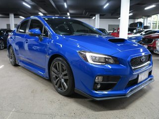 2016 Subaru WRX V1 MY17 Premium AWD Blue 6 Speed Manual Sedan.