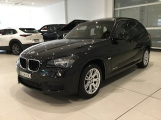 2011 BMW X1 E84 MY11.5 xDrive20d Steptronic Black Sapphire 6 Speed Sports Automatic Wagon