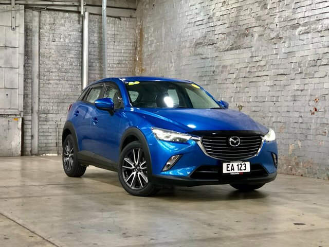 Used Mazda CX-3 DK2W7A sTouring SKYACTIV-Drive Mile End South, 2018 Mazda CX-3 DK2W7A sTouring SKYACTIV-Drive Blue 6 Speed Sports Automatic Wagon