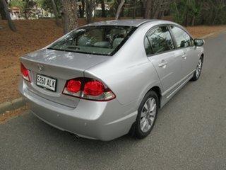 2010 Honda Civic 8th Gen MY10 VTi Silver 5 Speed Automatic Sedan.