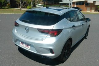 2019 Holden Astra BK MY19 RS Black Edition Silver 6 Speed Sports Automatic Hatchback.